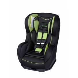 Autositz NANIA Cosmo Hatrix/grün, 0-18 kg schwarz/grün Gebrauchsanweisung