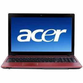 Notebook ACER Aspire 5742ZG-P614G75Mnrr (LX.RLW02.008) rot Gebrauchsanweisung