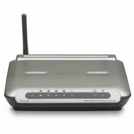 Datasheet NET-Steuerelemente und BELKIN ADSL WiFi 802.11 g (F5D7632qz4B)