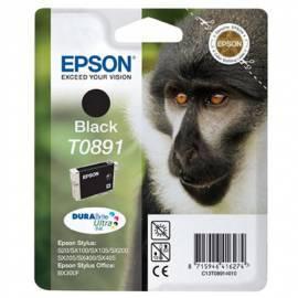 EPSON T0891 schwarz Tintenpatrone (C13T08914021) schwarz Bedienungsanleitung