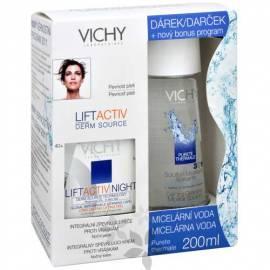 Benutzerhandbuch für LIFTACTIV Nacht Creme 50 ml + Quelle Derm Facial Mizellen Wasser auf empfindliche Haut und Augen In Thermale 200 ml gratis