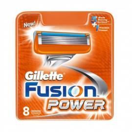Service Manual GILLETTE zusätzliche Hlavice Gillette Fusion Power 8 ks