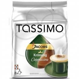 Kapseln für die TASSIMO Jacobs ausgedrückt Krönung 264 g cappuccino Gebrauchsanweisung