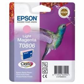 Handbuch für Refill Tinte EPSON T0806 (C13T08064021)