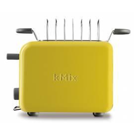 Bedienungsanleitung für Toaster KENWOOD TTM028 gelb