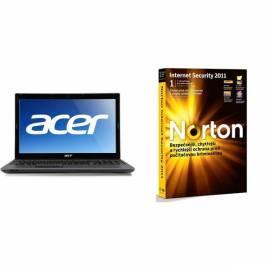 Benutzerhandbuch für Legen Sie Produkte ACER 5733Z-P614G64Mikk + Internet Security 2011