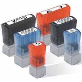 Bedienungshandbuch Zubehör für Drucker BROTHER PR-3458E, Stempel-blau (34 x 58 mm) (PR3458E6P) blau