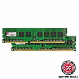 PDF-Handbuch downloadenSpeichermodul KINGSTON 2GB DDR3 Non-ECC CL7 DIMM 1066 MHz (Kit von 2x1GB) (KVR1066D3N7K2 / 2G)