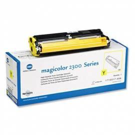 KONICA MINOLTA Toner, gelb 1, 5 k für MC2300/2350 (4576315) gelb