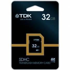 PDF-Handbuch downloadenSpeicherkarte TDK SDHC 32GB Class 6 (t78351)