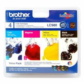 Datasheet Toner BROTHER LC980 CMYK (LC980VB1P)