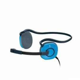 Bedienungshandbuch Headset LOGITECH H130 Sky Blue (981-000363) blau
