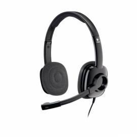 Headset LOGITECH H250 Graphite (981-000354) Bedienungsanleitung