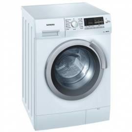 Die Waschmaschine SIEMENS WS 12M361BY Gebrauchsanweisung