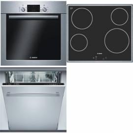 Produkte setzen, BOSCH HBA 43T350 + PKE645Q14E + SGV 43E93 EU - Anleitung