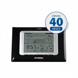 Wetterstation Hyundai WSC 2907, schwarz Bedienungsanleitung