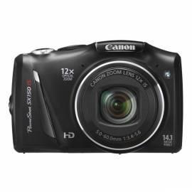 Handbuch für Digitalkamera CANON SX150 (5664B016AA) schwarz