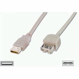 Benutzerhandbuch für PC Kabel-Verlängerung und DIGITUS (AK 669-18-ALG) Beige Farbe