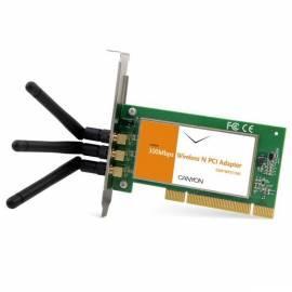 Handbuch für Netzwerk-Prvky eine WiFi CANYON Wireless PCI (CNP-WF511N2)
