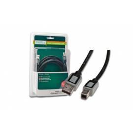 Bedienungsanleitung für DIGITUS Kabel A/Stecker auf B-Stecker, 2 x 5 m (DB-230380)