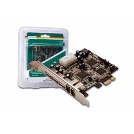 Datasheet Kabel DIGITUS Adapter PCI-Express x 1 2 X FireWire-Anschluss (DS-30230)