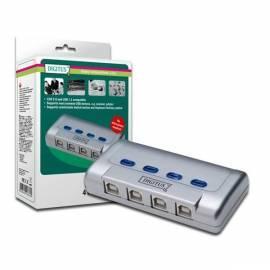 Bedienungshandbuch Netzwerk-Prvky ein WLAN DIGITUS USB 2.0 sharing Switch (DA-70136-1)