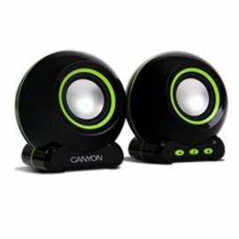 Bedienungshandbuch Reproduktory CANYON 2.0, USB (CNR-SP20BG)
