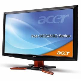 Monitor ACER GD245HQAbid (ET.UG5HE.A07) Bedienungsanleitung