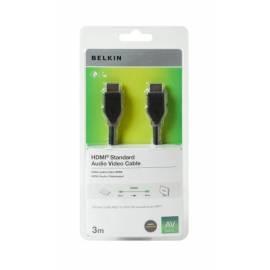 BELKIN HDMI - HDMI 1.4 AV, 3,0 m Kabel Bedienungsanleitung