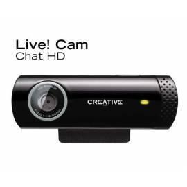 Handbuch für Webcamera CREATIVE LABS Live!Cam Chat (73VF070000001)