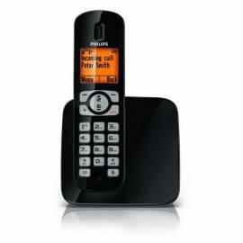 Telefon PHILIPS CD2801B zu Hause Bedienungsanleitung