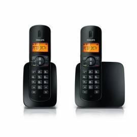 Telefon PHILIPS CD1802B zu Hause - Anleitung