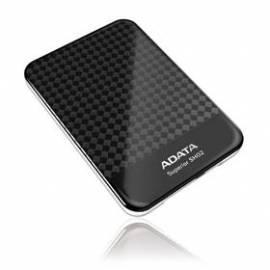 Bedienungsanleitung für Externe Festplatte SH02-DATA und 1 TB, USB 2.0 (ASH02-1TU-CBK)