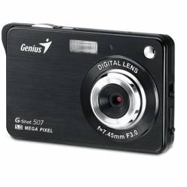 Handbuch für Digitalkamera GENIUS G-Shot 507 (32300008100) schwarz