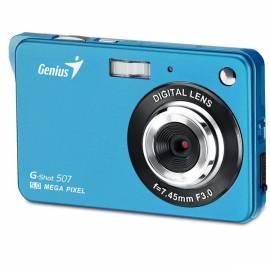 Digital Kamera GENIUS G-Shot 507 (32300008102) blau - Anleitung