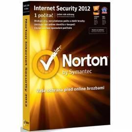 Software Norton Internet Security 2012 CZ Bedienungsanleitung