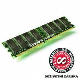 KINGSTON DDR2 2 GB 400 MHz CL3 (KVR400D2N3/2 g)-die Ware mit einem Abschlag (202235139) Bedienungsanleitung