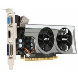 Handbuch für MSI GeForce GT430 1 GB Grafik Generation DDR3 (N430GT-MD1GD3/LP2)