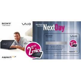 Garantie SONY nächsten Tag Dienst 1 Rok (VNDS1Y) Gebrauchsanweisung