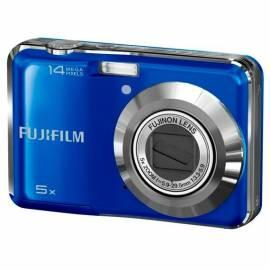 Benutzerhandbuch für FUJI AX300 Digitalkamera blau