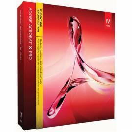 Handbuch für Software ADOBE Acrobat X Pro MAC CZ (65085412)