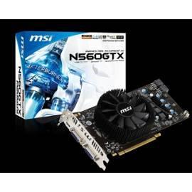 Grafikkarte MSI N560GTX-M2D1GD5 mit Gebrauchsanweisung