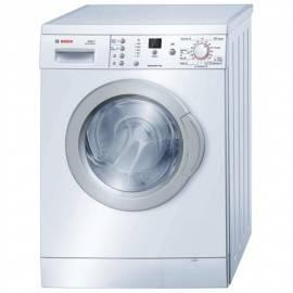 Waschmaschine Bosch WAE 24365 wäre führt die Umsetzung der Gebrauchsanweisung