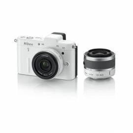 Handbuch für Digitalkamera NIKON 1 V1 + 10-30 VR + 10 mm/1.7 weiss