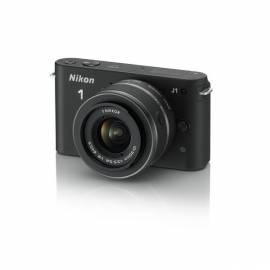 Digitalkamera NIKON 1 J1 + 10-30 VR schwarz - Anleitung