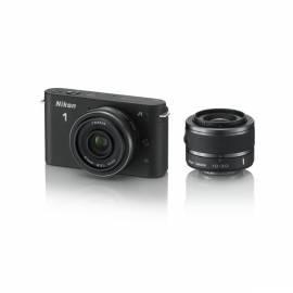 Bedienungsanleitung für Digitalkamera NIKON 1 J1 + 10-30 VR + 10 mm/1.7 schwarz
