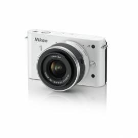 Datasheet Digitalkamera NIKON 1 J1 + 10-30 VR weiß