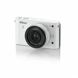 NIKON Digitalkamera 1 J1 + 10 mm F2. 8 weiss Gebrauchsanweisung