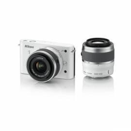 Bedienungshandbuch Digitalkamera NIKON 1 J1 + 10-30 VR VR 110 + 30-weiß