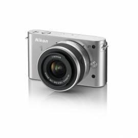 Handbuch für Digitalkamera NIKON 1 J1 + 10-30 VR Silber